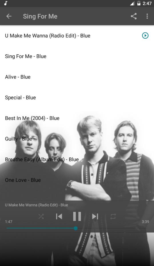 Screenshots - Blue Best Of Music