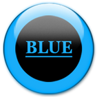 Blue Glass Orb Icon Pack Free