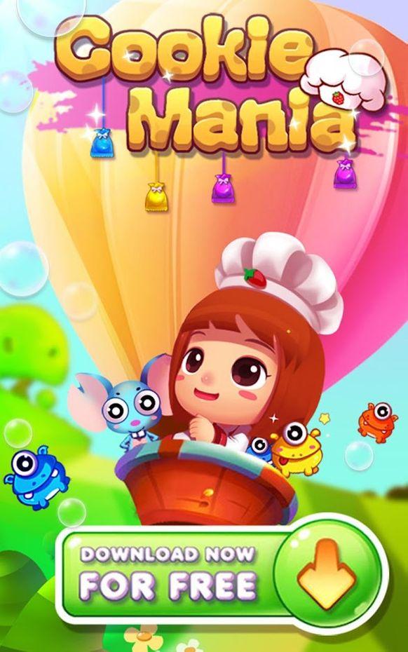 Screenshots - Cookie Mania - Match-3 Sweet Game
