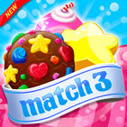Cookie Match 3 Mania -  Sweet Puzzle Game ⭐❤️🍬🍧⭐