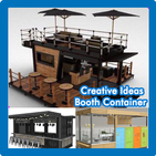 Creative ideas Booth Containers