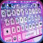 Galaxy Sparkle Kika Keyboard