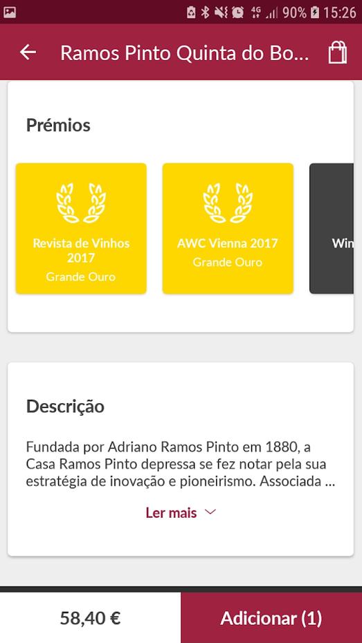 Screenshots - Garrafeira Nacional