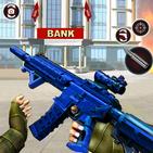 Grand Bank Robbery Vegas Heist : Real Shooting