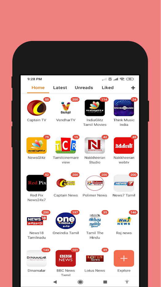 Screenshots - Live All Tamil TV Shows _HD
