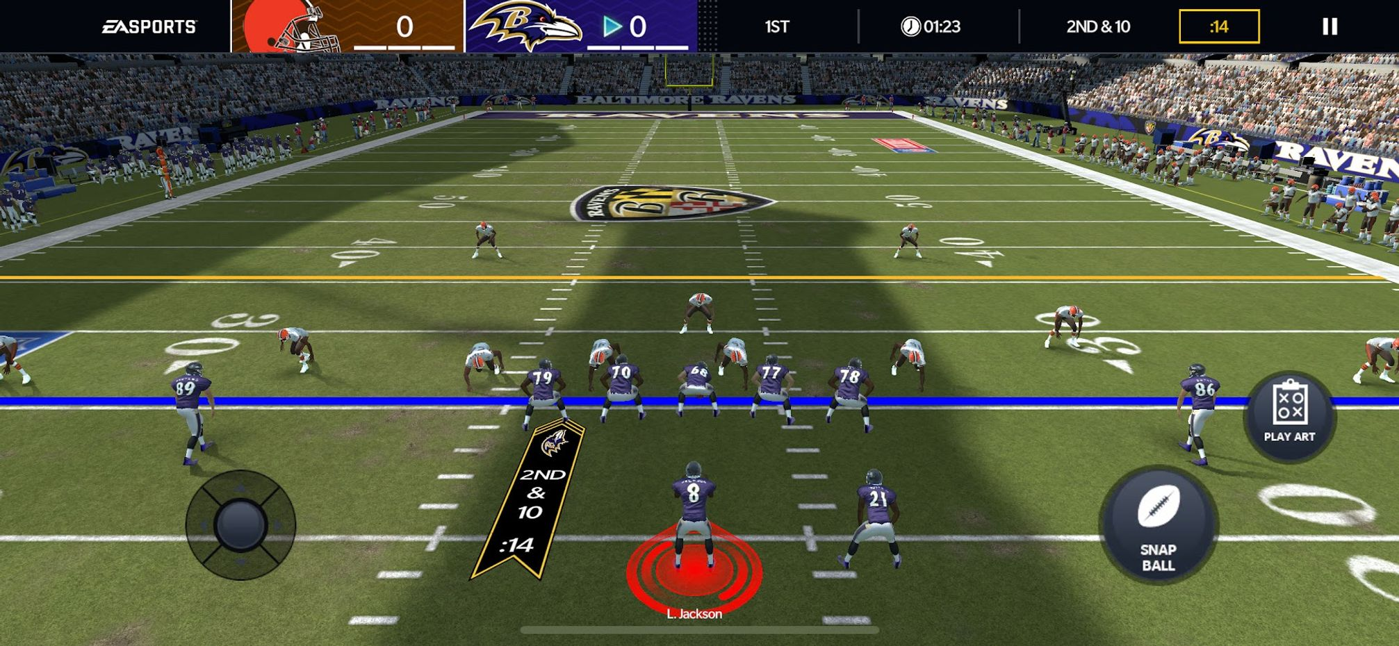 Screenshots - Madden NFL 21 Mobile Football