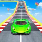 Mega Ramp Car Racing Stunt: Impossible Sky Tracks