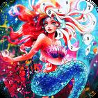 Mermaid color by number: Coloring games offline