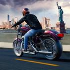 Moto Rider USA: Highway Traffic
