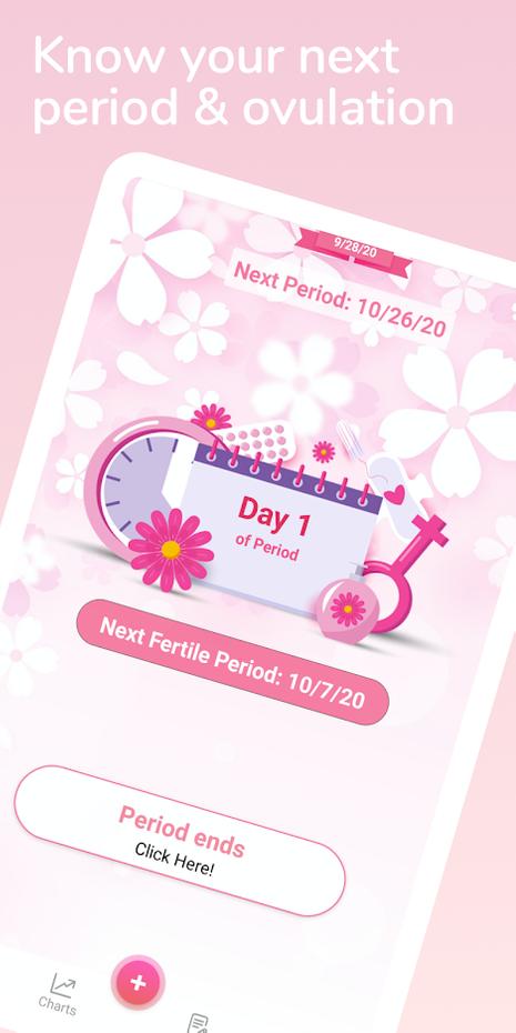 Screenshots - Calendario Menstrual - Dias Fertiles y Ovulación