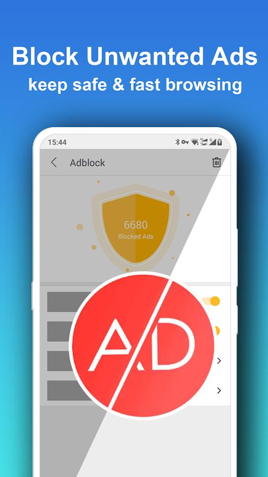 Screenshots - Pure Web Browser-Ad Blocker,Video Download,Private