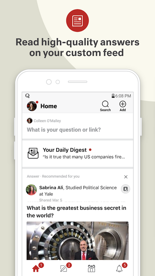 Screenshots - Quora — Ask Questions, Get Answers