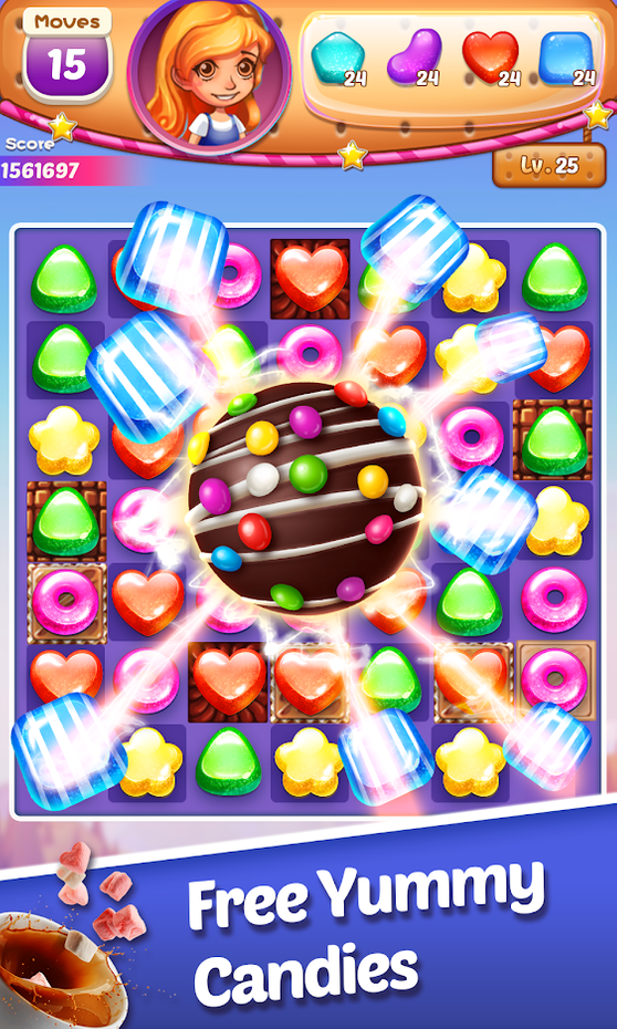 Screenshots - Sweet Cookie -2021 Match Puzzle Free Game