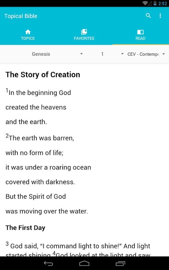 Screenshots - Topical Bible