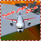 Turkish Flight DC - 10