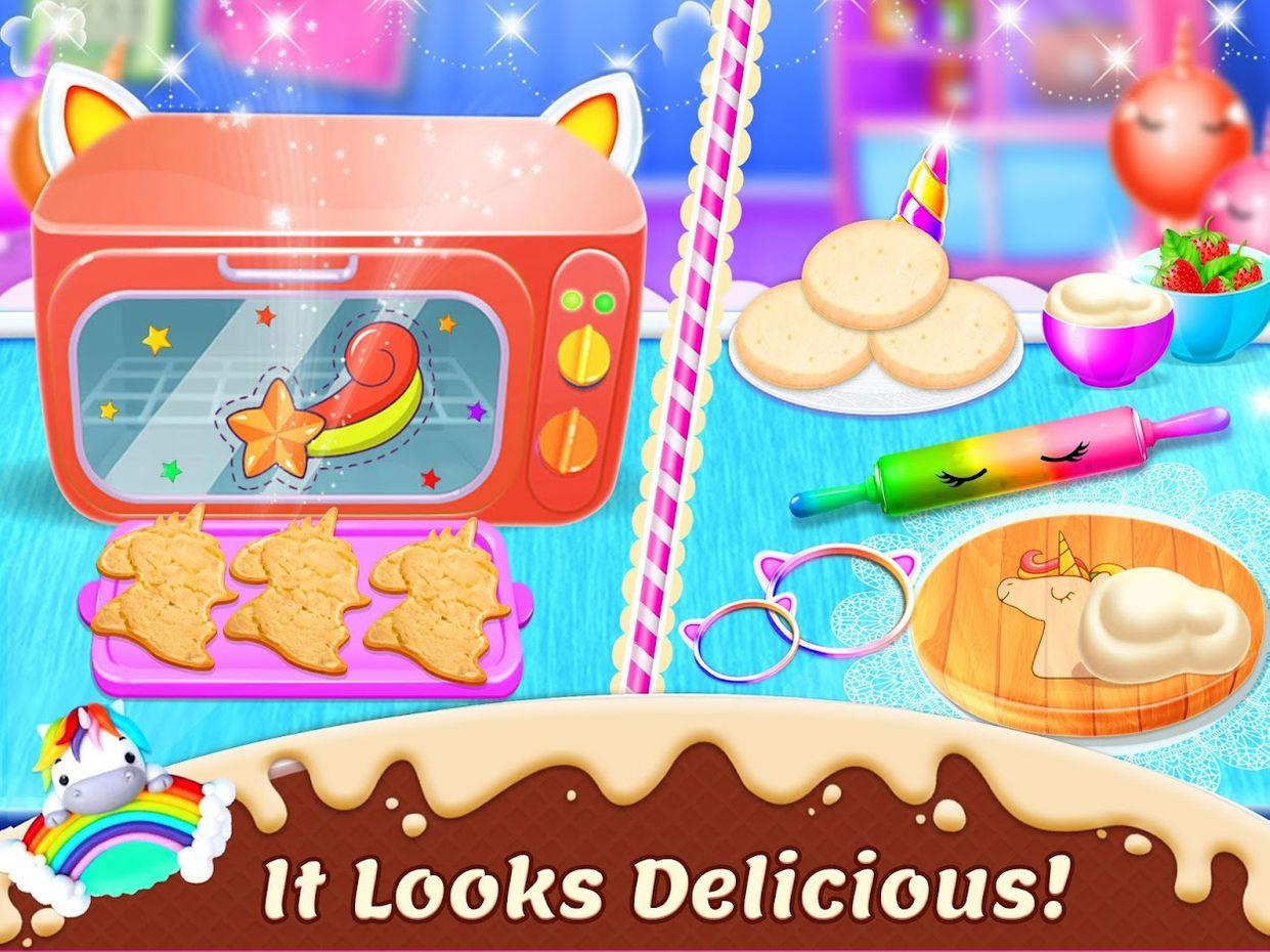 Screenshots - Unicorn Cookie Chef: Dessert Cooking Game