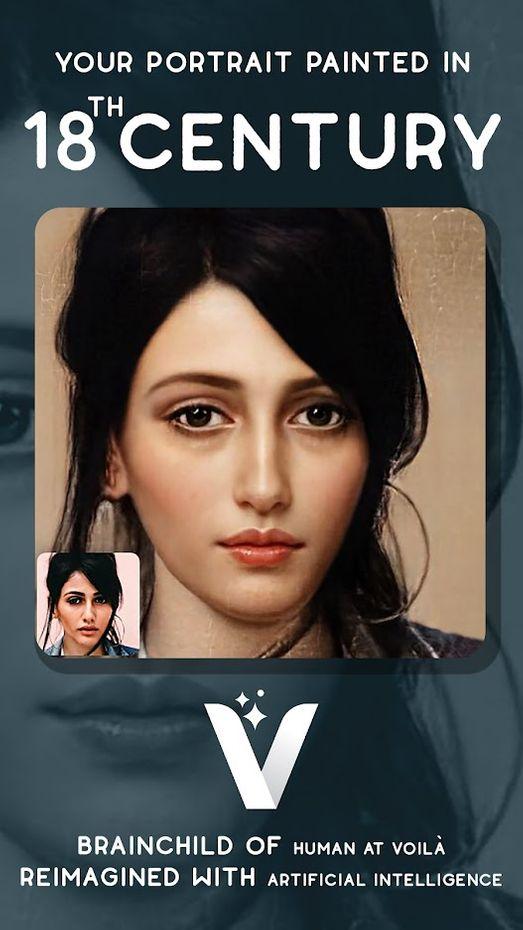 Screenshots - Voilà AI Artist - Photo to Cartoon Face Art Editor